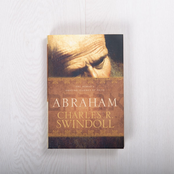 Abraham: One Nomad's Amazing Journey of Faith, hardcover by Charles R. Swindoll