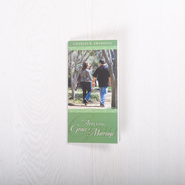 Applying Grace to Your Marriage, booklet by Charles R. Swindoll