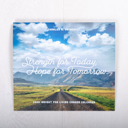 Strength for Today, Hope for Tomorrow, 2020 wall calendar