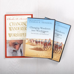 Changing Wanderers into Worshippers: From the Exodus to the Promised Land, message series with study guide