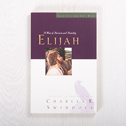 Elijah: A Man of Heroism and Humility, paperback by Charles R. Swindoll