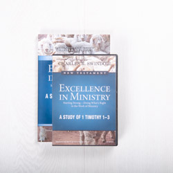 Excellence in Ministry: Starting Strong—Doing What's Right in the Work of Ministry, signature series with Bible companion
