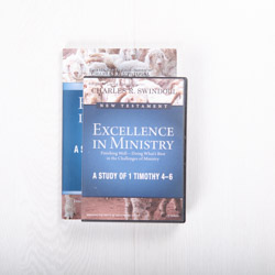 Excellence in Ministry: Finishing Well—Doing What's Best in the Challenges of Ministry, signature series with Bible companion