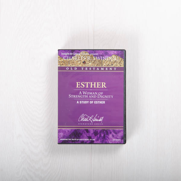 Esther: A Woman of Strength and Dignity, message series