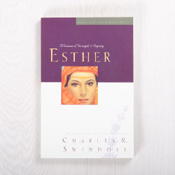 Esther: A Woman of Strength and Dignity, paperback by Charles R. Swindoll