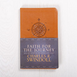 Faith for the Journey: Daily Meditations on Courageous Trust in God, devotional by Charles R. Swindoll