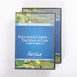 Following Christ...The Man of God: A Study of John 6-14, signature series