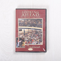 Looking Ahead to Things that Last, DVD message