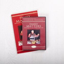 Family Matters: Investing in the Things That Last, DVD series with Bible companion