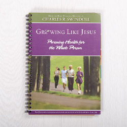 Growing Like Jesus: Pursuing Health for the Whole Person, spiral-bound paperback by Charles R. Swindoll