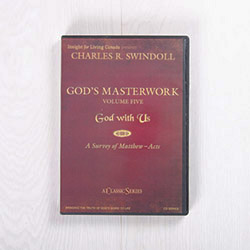 God's Masterwork, Volume Five: God With Us—A Survey of Matthew-Acts, classic series