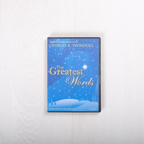 The Greatest Words, message series
