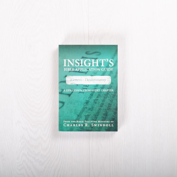 Insight's Bible Application Guide: Genesis-Deuteronomy—A Life Lesson from Every Chapter, paperback by Insight for Living