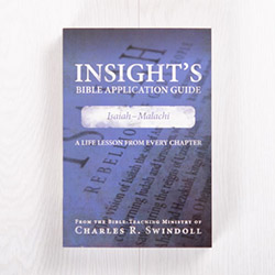 Insight's Bible Application Guide: Isaiah-Malachi—A Life Lesson from Every Chapter, paperback by Insight for Living