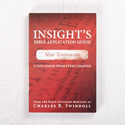 Insight's Bible Application Guide: New Testament—A Life Lesson from Every Chapter, paperback by Insight for Living
