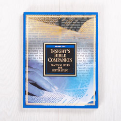 Insight's Bible Companion, Volume 2: Practical Helps for Better Study, paperback by Insight for Living