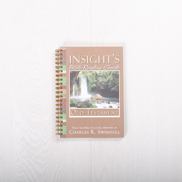 Insight's Bible Reading Guide: Old Testament, paperback devotional by Insight for Living