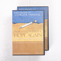 Insights on 1 Peter: Hope Again, message series with workbook