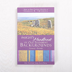 Insight's Handbook of Old Testament Backgrounds: Volume 1—Genesis-Esther, paperback by Insight for Living