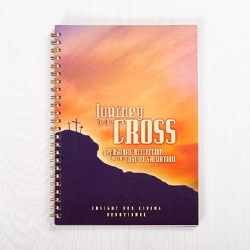 Journey to the Cross: A Personal Reflection on the Cost of Salvation, paperback journal by Insight for Living