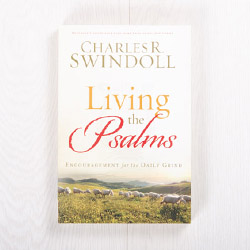 Living the Psalms: Encouragement for the Daily Grind, paperback by Charles R. Swindoll