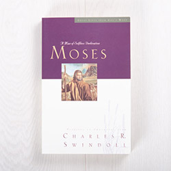 Moses: A Man of Selfless Dedication, paperback by Charles R. Swindoll