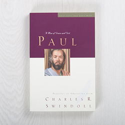 Paul: A Man of Grace and Grit, paperback by Charles R. Swindoll