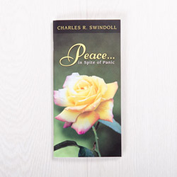 Peace...In Spite of Panic, booklet by Charles R. Swindoll
