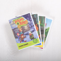 Paws & Tales DVDs 5 - 8