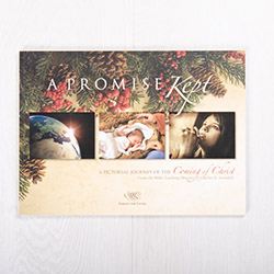 A Promise Kept: A Pictorial Journey of the Coming of Christ, softcover Advent devotional by Insight for Living