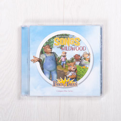 Songs from Wildwood, Volume 1, Paws & Tales music CD