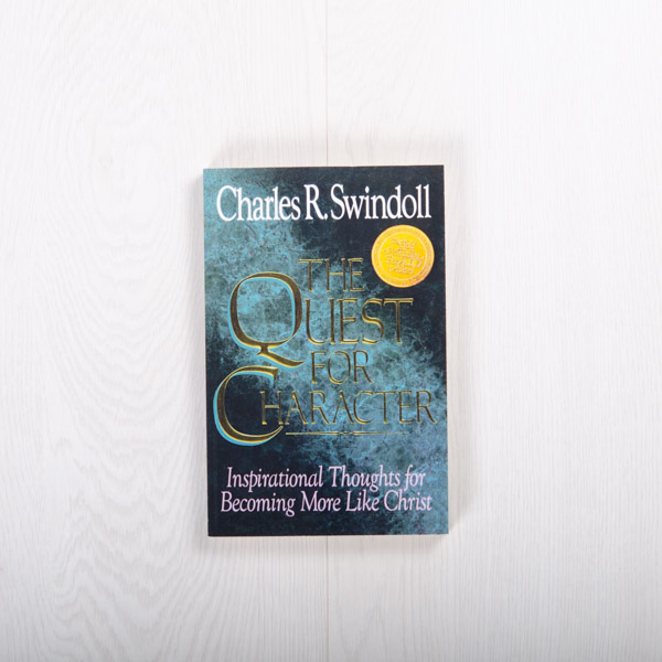 The Quest for Character: Inspirational Thoughts for Becoming More Like Christ, paperback devotional by Charles R. Swindoll
