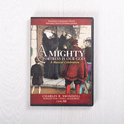 A Mighty Fortress Is Our God, Blu-ray and CD set by Stonebriar Community Church Sanctuary Choir and Orchestra