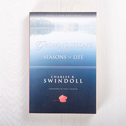Growing Strong in the Seasons of Life, paperback devotional by Charles R. Swindoll