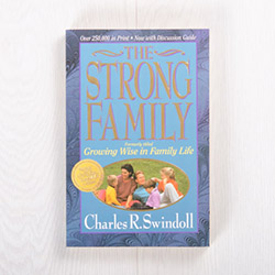The Strong Family, paperback by Charles R. Swindoll