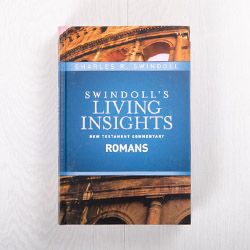 Swindoll's Living Insights New Testament Commentary: Romans, hardcover by Charles R. Swindoll