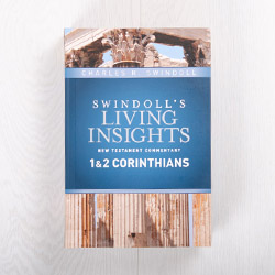 Swindoll's Living Insights New Testament Commentary: 1 & 2 Corinthians, hardcover by Charles R. Swindoll