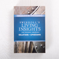 Swindoll's Living Insights New Testament Commentary: Galatians and Ephesians, hardcover by Charles R. Swindoll