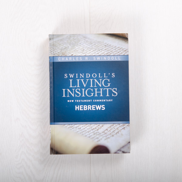 Swindoll's Living Insights New Testament Commentary: Hebrews, hardcover by Charles R. Swindoll
