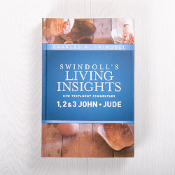 Swindoll's Living Insights New Testament Commentary: 1, 2 & 3 John, Jude, hardcover by Charles R. Swindoll