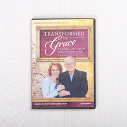 Transformed by Grace: A Candid Conversation about Reframing Life, message set