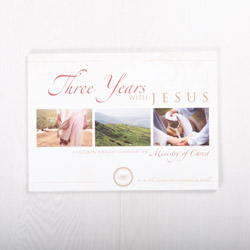 Three Years with Jesus: A Pictorial Journey Through the Ministry of Christ, softcover devotional by Insight for Living