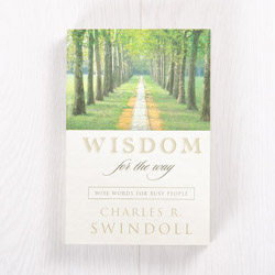 Wisdom for the Way: Wise Words for Busy People, paperback devotional by Charles R. Swindoll